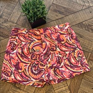 Merona Paisley Print Shorts